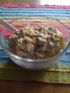 Porridge Apfel Zimt