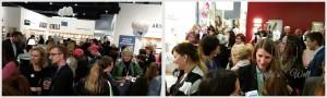 BlognTalk Bloggertreffen 2015 am Randomhouse Stand der Frankfurter Buchmesse 2015