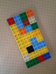 Duplospiel eines Autisten