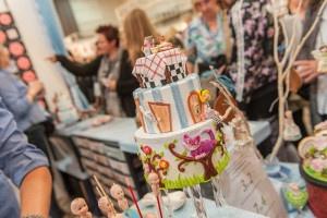 Cake&bake 2015 Alice im Wunderland Torte