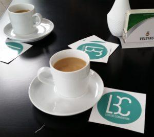 Kaffee bei der LBC