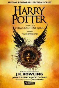 Harry Potter und das verwunschene Kind von J.K. Rowling aus dem Carlsen Verlag