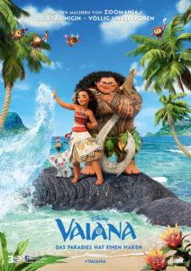 Disney Vaiana - das Paradies hat einen Haken - Kinoplakat