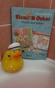 Rico und Oskar - Fische aus Silber Comic Buch aus dem Carlsen Verlag