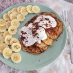 Weight Watchers geeignete Bananen Pfannkuchen