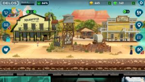 Westworld Mobile Game Start in Sweetwater