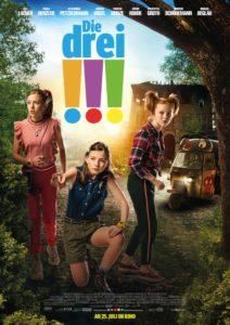 Die drei !!! - offizielles Kinoplakat